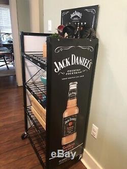 Jack Daniels Heavy Duty Étagère Avec Roues 48.5x23.5 Neuf Dans La Boîte Wow