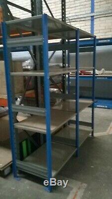 Job Lot / 7 Baies / Industriel 7ft Haute Racking / Heavy Duty Rayonnage