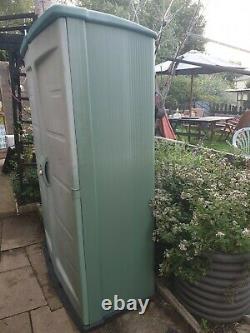 Keter Jardin Extérieur Rangement Grand Placard Avec Étagère Verte