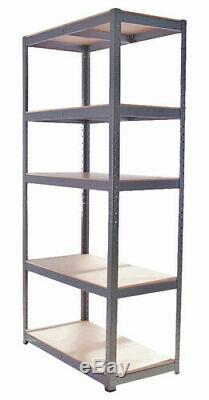 Les Rayonnages Beaucoup De Travail 5 Niveau Robuste Racking Shelf 6 Unités + Banc