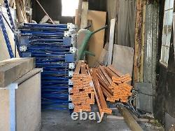 Lien 51 Palette Commerciale Industrielle Lourde Racking 9ft Poutres Plus Étagères