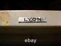 Lyon Stronghold 2 Porte 4 Étagère Armoire De Verrouillage Lourd 78 X 36 X 21