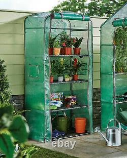 Mini Serre Chaude 4 Niveaux Comprenant Le Cadre Lourd Devoir Jardin Extérieur Grow House Nouveau