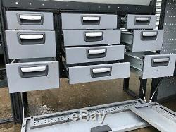 Modul Metal System Van Racking Rayonnage Heavy Duty Set Commercial