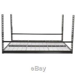 Montage Au Plafond Support De Rangement Réglable Garage Heavy Duty Shelf Porte-bagages