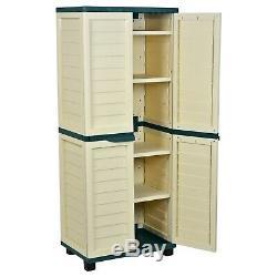 Outils De Jardin En Plein Air Starplast Plastic 4 Box Box Utility Box Beige / Crème