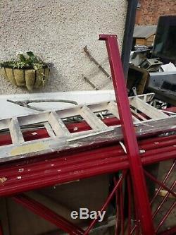 Palette D'entrepôt Bayy 9 Shelfs Soutirant Le Métal Résistant Avec Des Étagères En Bois