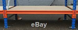 Palettisation, Longspan Rayonnage, Heavy Duty. 1 Baie De Démarrage Avec 2 Baies Ajouter Sur