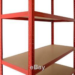 Paquet De 6 - Stockage De Soutirage Industriel Sans Boulet Extra Large De 120 CM À 5 Niveaux