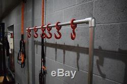 Portemanteau / Banc De Gymnastique De Style Industriel Avec Crochets Robustes Et Étagère À Chaussures / Sacs