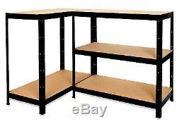 Rack Pour Home Entrepôt Magasin Garage Afficher Rayonnages 5 Niveau Heavy Duty
