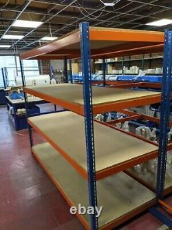 Rapid 1 Racking 4-tier Entrepôt Lourd Racking (600 KG Par Étagère)