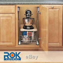 Ras-ml-hdcr Rev-a-shelf Robuste Mixer / Appliance Ascenseur Mécanisme Chrome