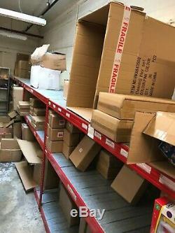 Rayonnage 4 Rayonnages En Métal Lourds, Unité De Rangement Entrepôt 3 Niveaux Collection