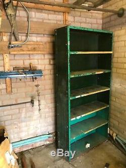 Rayonnage Armoire De Garage Industriel Métal Vintage Atelier