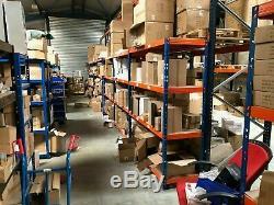 Rayonnage D'entreposage Pour Entrepôt À Usage Intensif Et Rayonnage À Palettes (lot De Travaux) 40+ Étagères
