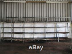 Rayonnage De Garage, 5 Tablettes, 6 Baies, Robuste, 190 X 90 X 60 Cm, Rangement Pour Rayonnage