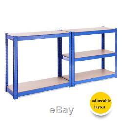 Rayonnage De Garage Soutenant L'atelier De Bleu Et De Blacktable D'atelier D'atelier De Magasin