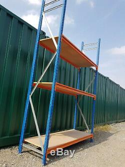 Rayonnage De Stockage De Débutant La Baie Commençant L'atelier De Garage Résistant Fort De 80cm