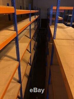 Rayonnage En Acier De Rayonnage En Acier De Rayonnage Industriel De Garage D'unité Industrielle Très Résistante D'étagère De 4 Niveaux