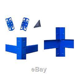 Rayonnage En Métal Industriel De Rayonnage De Boltless De Rayonnage En Métal De Baie Résistante De Gris Bleu