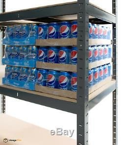 Rayonnage Extra Large 5 Niveaux, Extra-robuste 180 X 120 X 45 CM (cm)