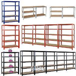 Rayonnages De Garage Robustes En Acier Étagères De Stockage À La Maison 180 X 120 X 45 CM