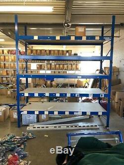 Rayonnages Métalliques Rangement Lourds Forfillment Entrepôt Racking Plus Disponible