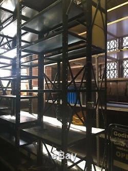 Récupération De Warwick Sur Étagères En Acier À 7 Niveaux Pour Usage Intensif Et De Qualité Supérieure