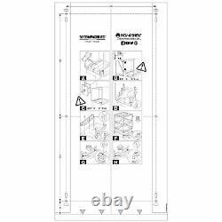 Rev-a-shelf 5349-1527dm-2 Double Conteneur De Déchets D'armoire De 27 Qt