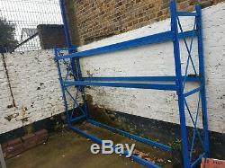 Slime Ligne Entrepôt Heavy Duty Commercial Industriel Racking Cadres Et Poutres