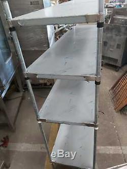 Stockage Tablette Inox Pour La Cuisine Robuste Commerciale 176x48x170 CM