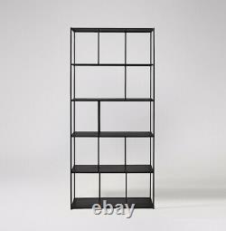 Swoon Editions Aero Black Shelving Unité