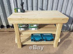 Table De Travail Extérieure En Bois Pour Tables De Travail De 3 Pi À 10 Pi