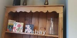 Tall Solid Bright Oak Wood 5-tier Bookcase 95x25x200cm Support D'affichage Bibliothèque