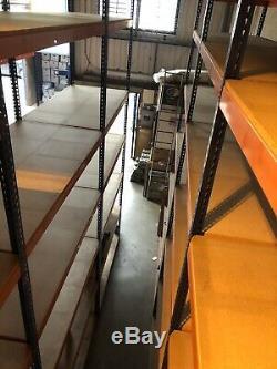 Très Pas Cher Heavy Duty 4 Tier Shelf Entrepôt Garage Rayonnages Racking Acier
