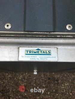 Trimetals Metal Store/shed (dark Green) Avec Étagère Intérieure