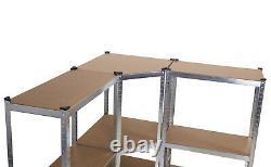 Unité Modulaire De Soutirage De Cave De Garage D'étagère D'angle Lourd