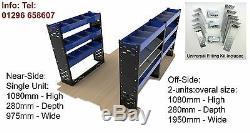 Van Racking Système Heavy Duty Professionnel Solide En Acier Van Rayonnage Paquet