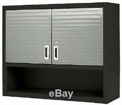 Verrouillage Métal Mur Cabinet D'outils Magasin Garage Étagère De Rangement En Acier Robuste
