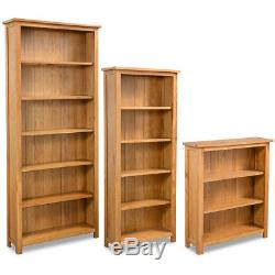 Vidaxl Oak Library Home Étagère Bibliothèque Présentoir Multi-tailles Rustique