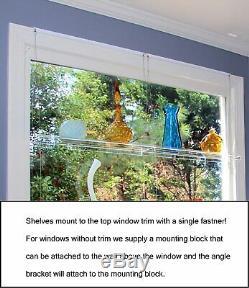 Vues Magnifiques Hanging Fenêtre Plantes Étagères 4 Étagères