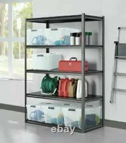 Whalen 5 Tier 48 (121cm) Heavy Duty Storage Rack Shelf Meilleur Prix