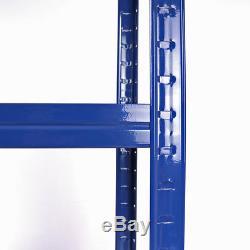 Wido 10 Pack Large Rangement Industriel Pour Entrepôt En Métal Lourd 5 Niveaux