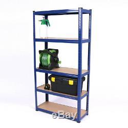 Wido 7 Pack Pack 5 Étages Large Étagère De Rangement Pour Rayonnage Industriel